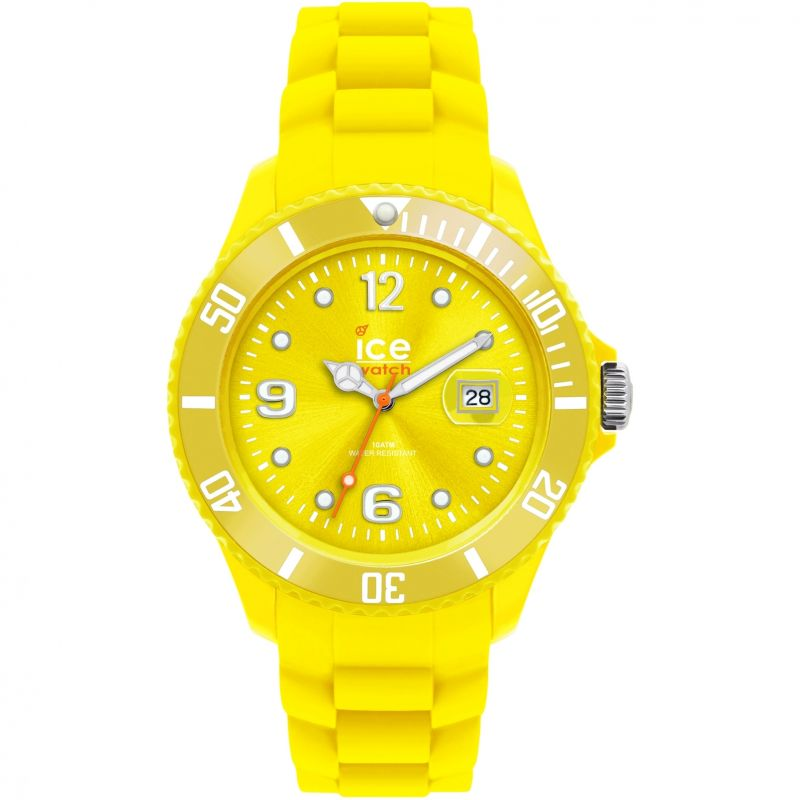 Ladies Ice-Watch Sili - yellow small Watch 000127