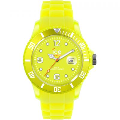 Big-Big Ice-Watch Ice-Flashy - neon yellow extra big Watch SS 06bfc00df3f1