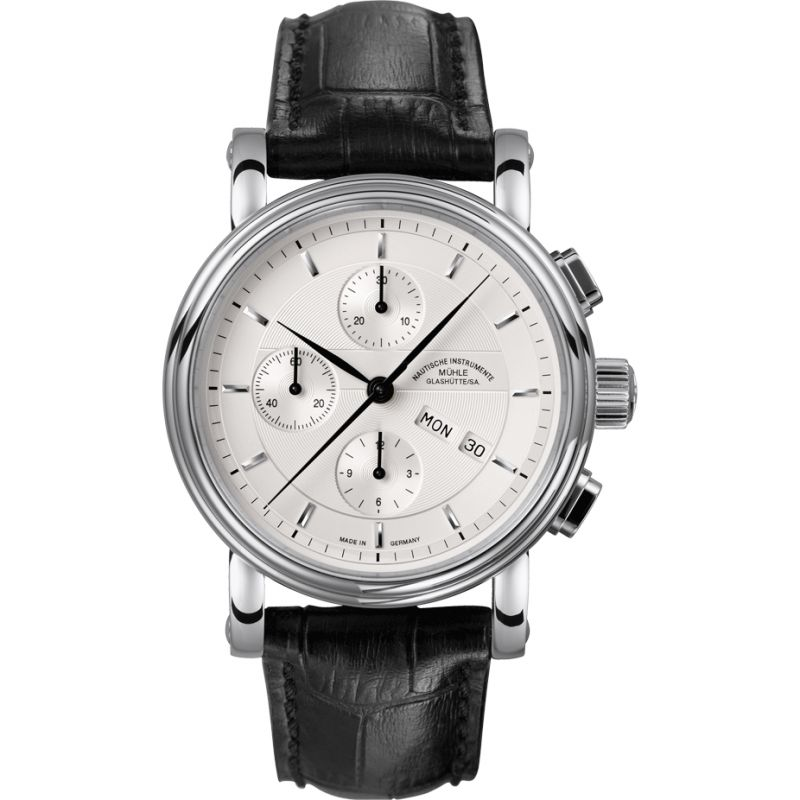 Mens Muhle Glashutte Teutonia II Automatic Chronograph Watch