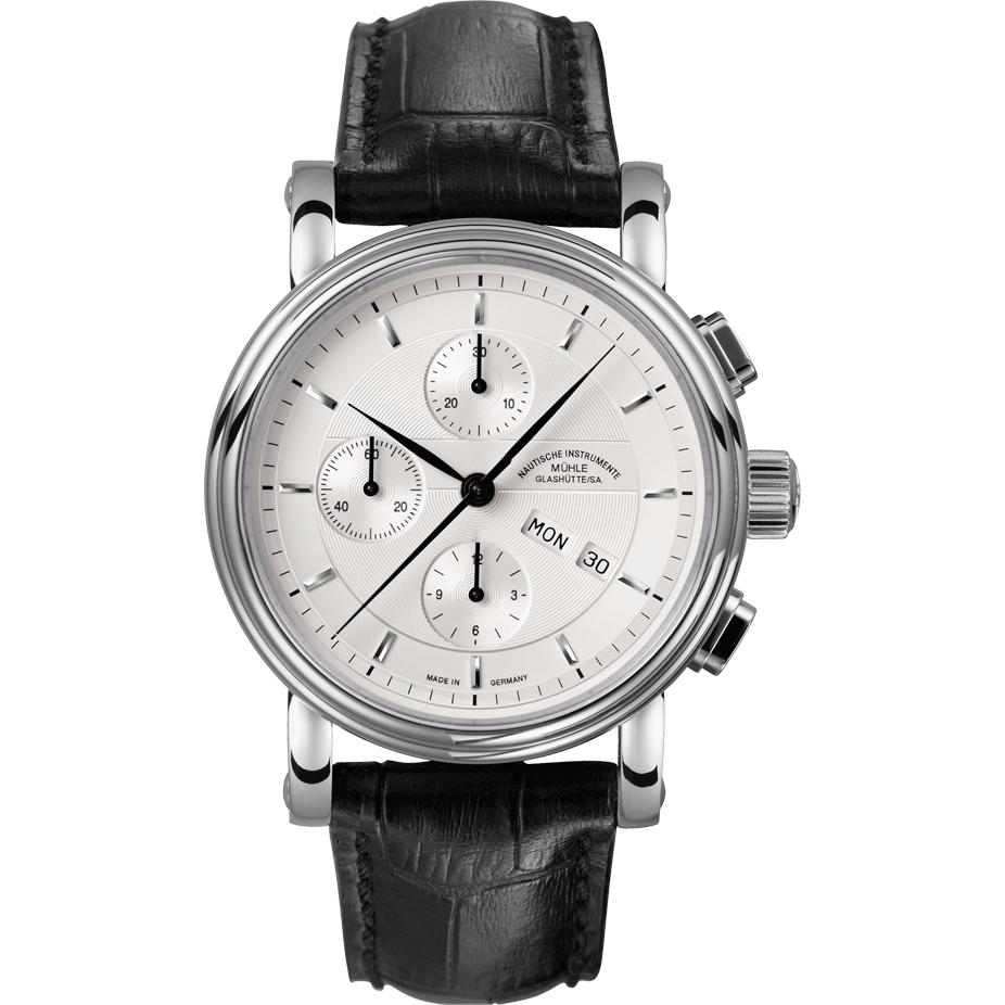 Gents Muhle Glashutte Teutonia Ii Chronograph Watch M1 30 95 Lb