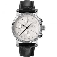 Mens Muhle Glashutte Teutonia II Automatic Chronograph Watch M1-30-95-LB