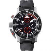Mens Muhle Glashutte SAR Fleiger Automatic Chronograph Watch