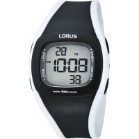 Ladies Lorus Alarm Chronograph Watch R2337GX9