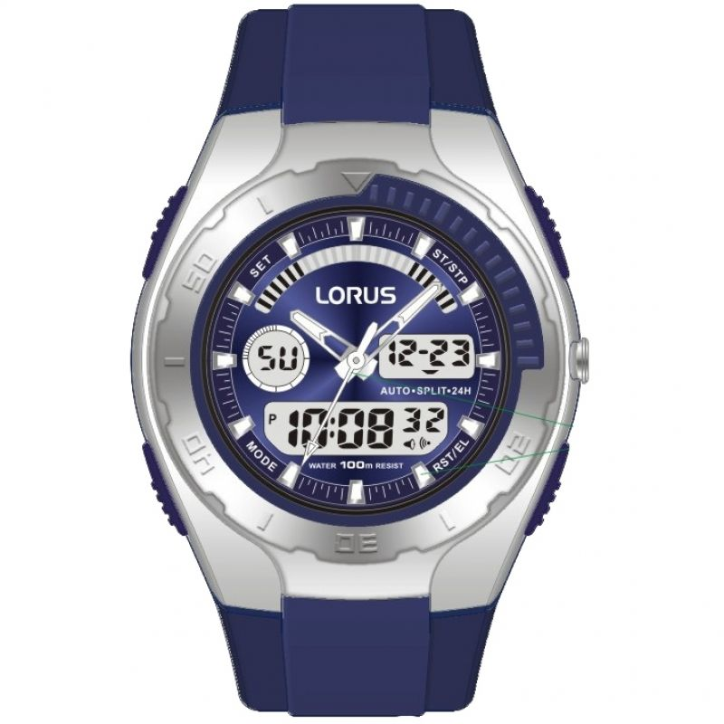 Mens Lorus Alarm Chronograph Watch R2391GX9