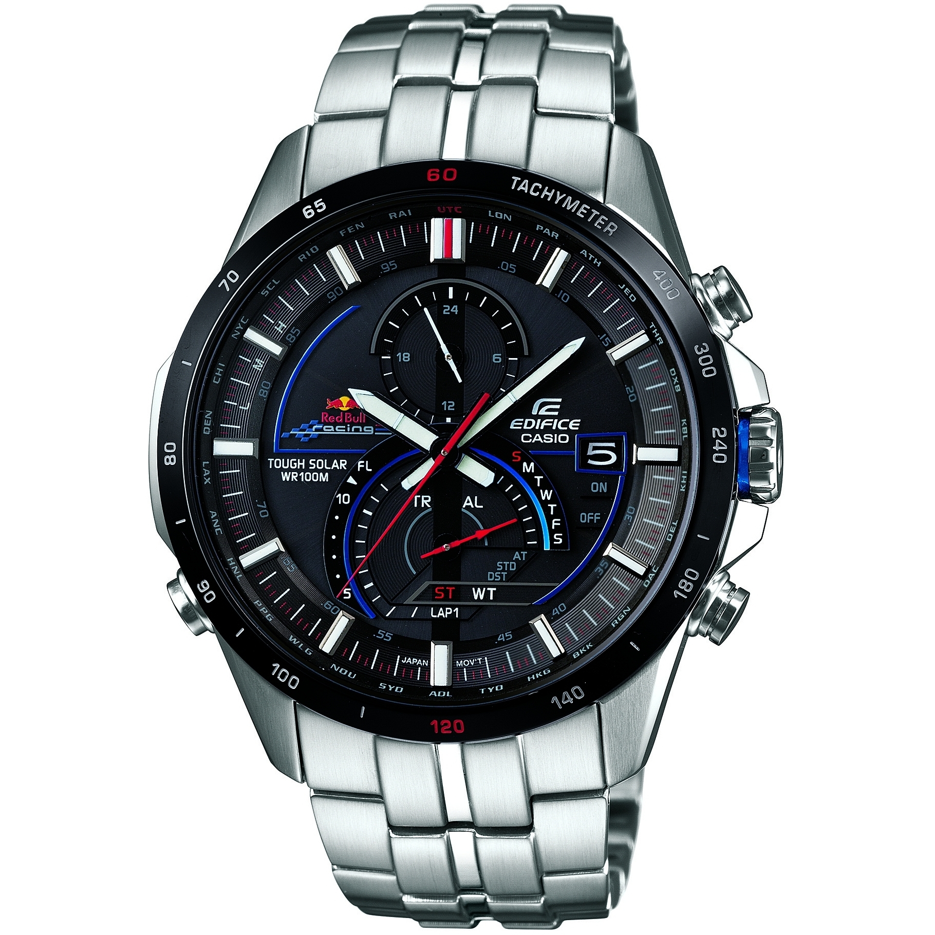 30d4f85d8991 Gents Casio Edifice Red Bull Limited Edition Alarm Chronograph Watch  (EQS-A500RB-1AVER)