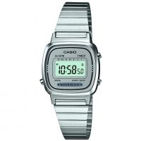 Casio Classic Collection Dameschronograaf Zilver LA670WEA-7EF