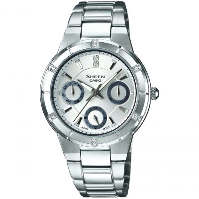 Ladies Casio Sheen Watch SHE-3800D-7ADR
