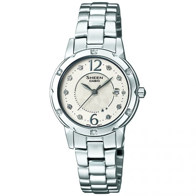 Ladies Casio Sheen Watch SHE-4021D-7AEF