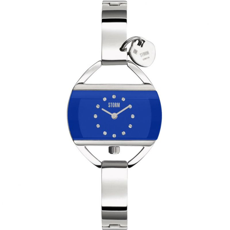 Ladies Storm Temptress Charm Lazer Blue Watch