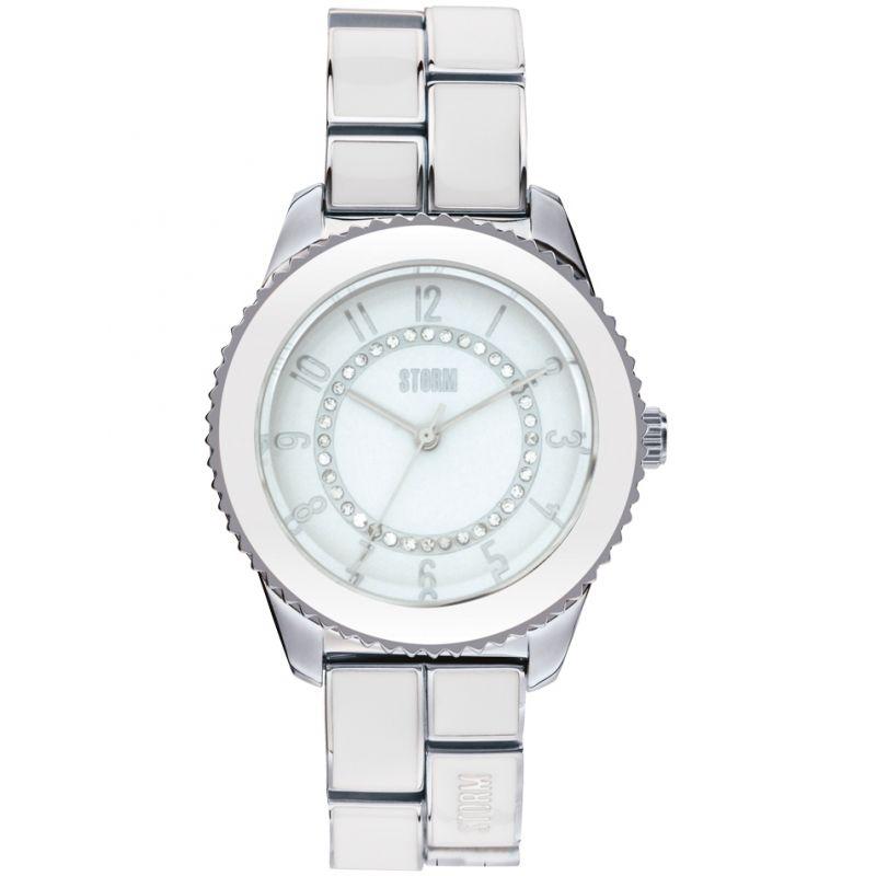 Ladies Storm Zarina White Watch