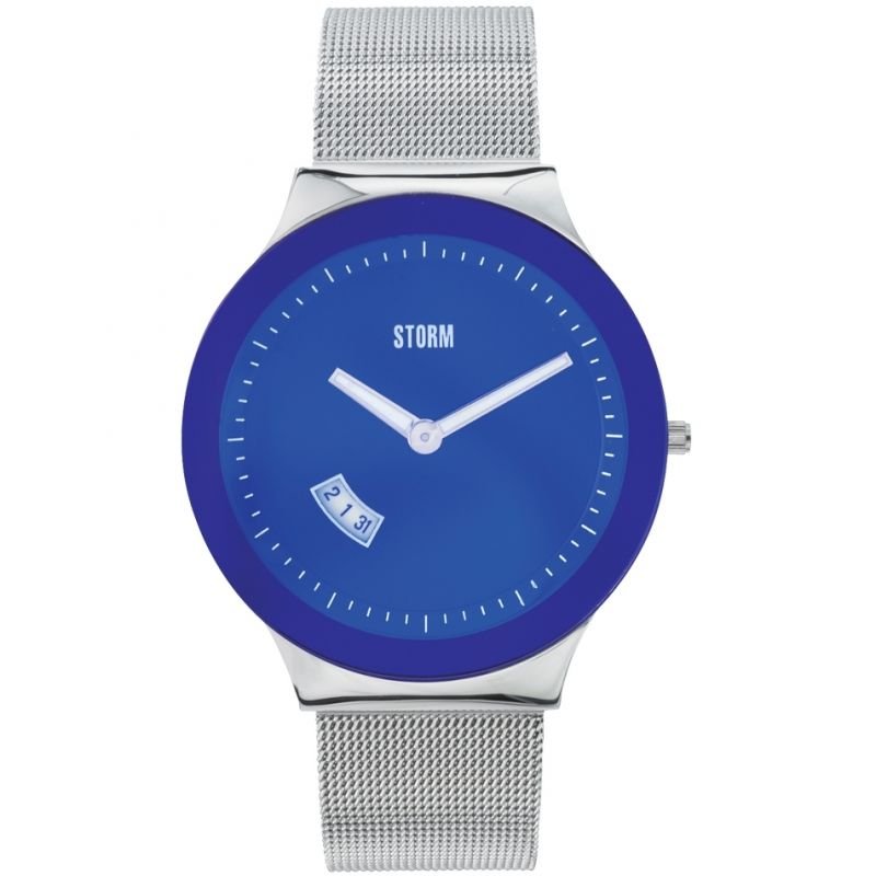 Mens Storm Sotec Lazer Blue Watch