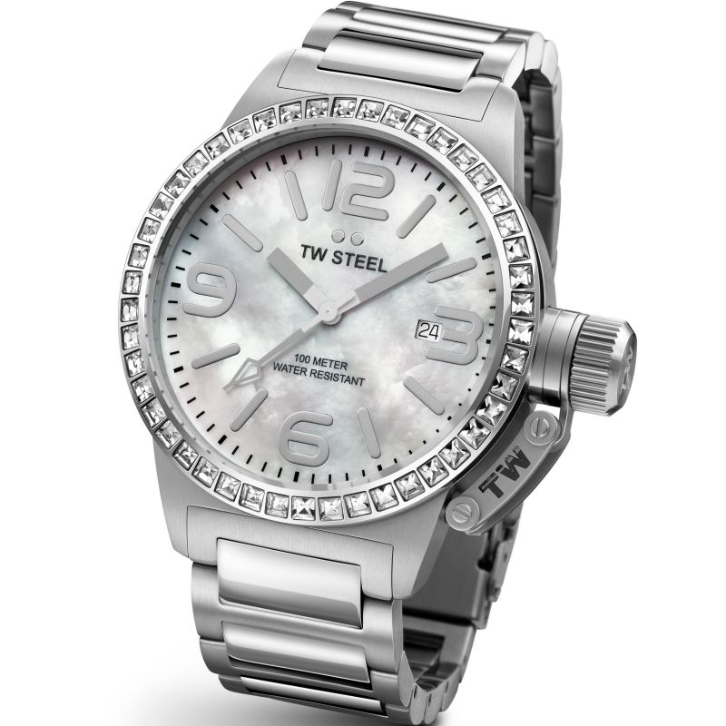 Ladies TW Steel Canteen 40mm Watch