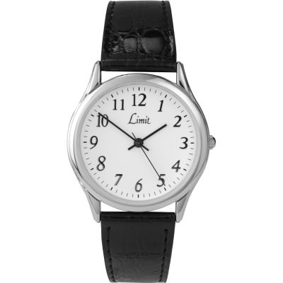Mens Limit Silver Coloured Classic Watch 5341.37