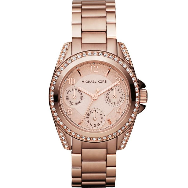 Ladies Michael Kors Mini Blair Watch