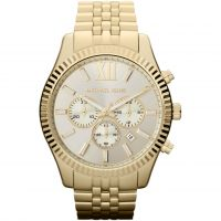 Mens Michael Kors Lexington Chronograph Watch MK8281
