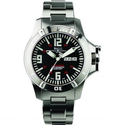 Montre Homme Ball Engineer Hydrocarbon Spacemaster Glow Chronometer DM2036A-SCA-BK
