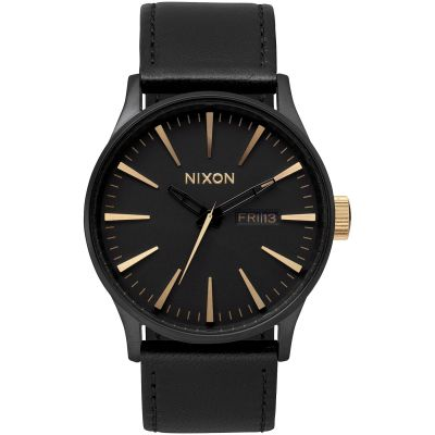 Leather Nixon The Sentry Watcha105 1113™ Gents qULGzMSVp