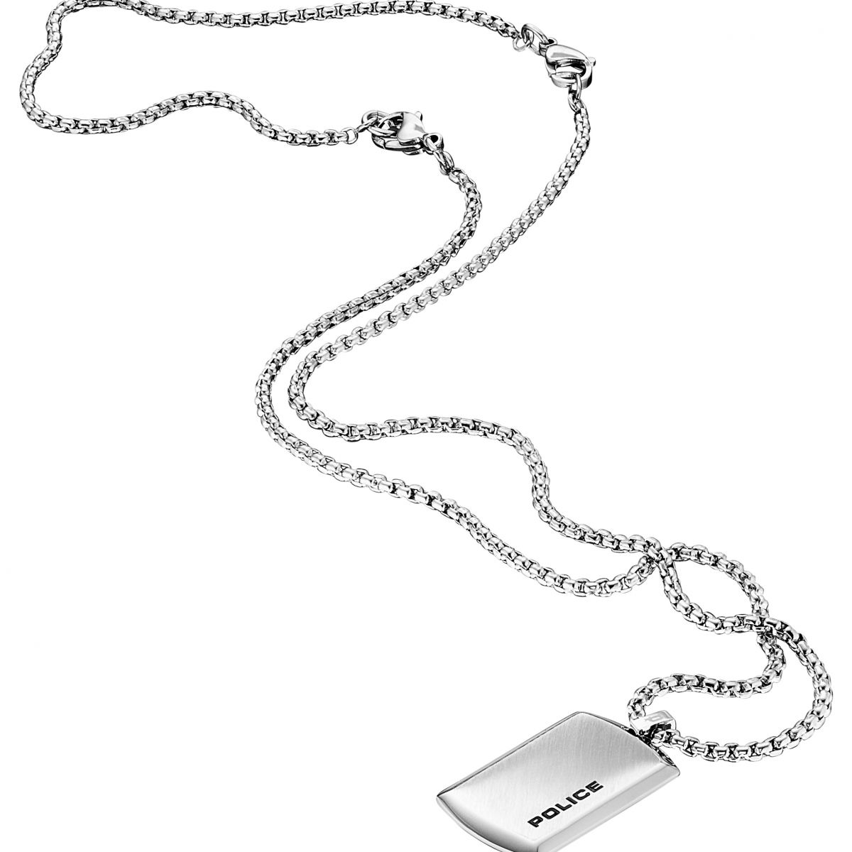 halskette uhrcenter gents herren image necklace purity en police product
