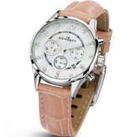 Ladies Kennett Lady Savro Chronograph Watch LWSAVWHSILPK