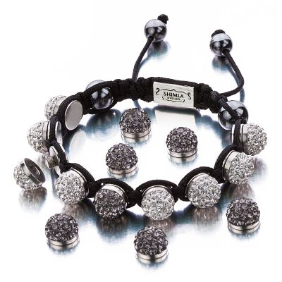 Ladies Shimla Stainless Steel Interchangeable Crystal Bracelet SH-111