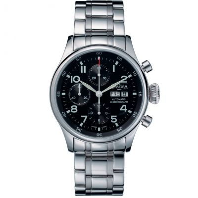 Mens Davosa Pilot Automatic Chronograph Watch 16100450
