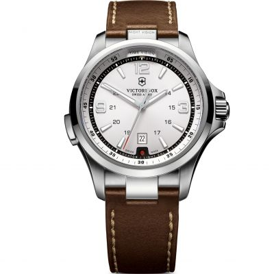Victorinox Swiss Army Night Vision Night Vision Herrenuhr in Braun 241570