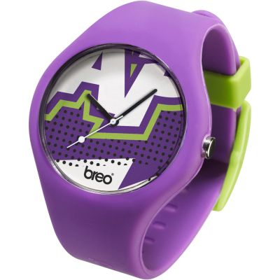 Unisex Breo Classic Zap Purple Watch B-TI-CLCZ2