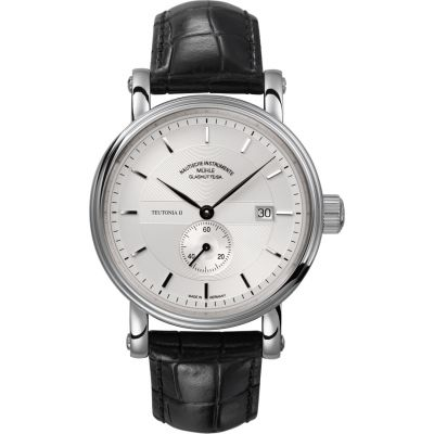 Mens Muhle Glashutte Teutonia II Kleine Sekunde Automatic Watch M1-33-45-LB
