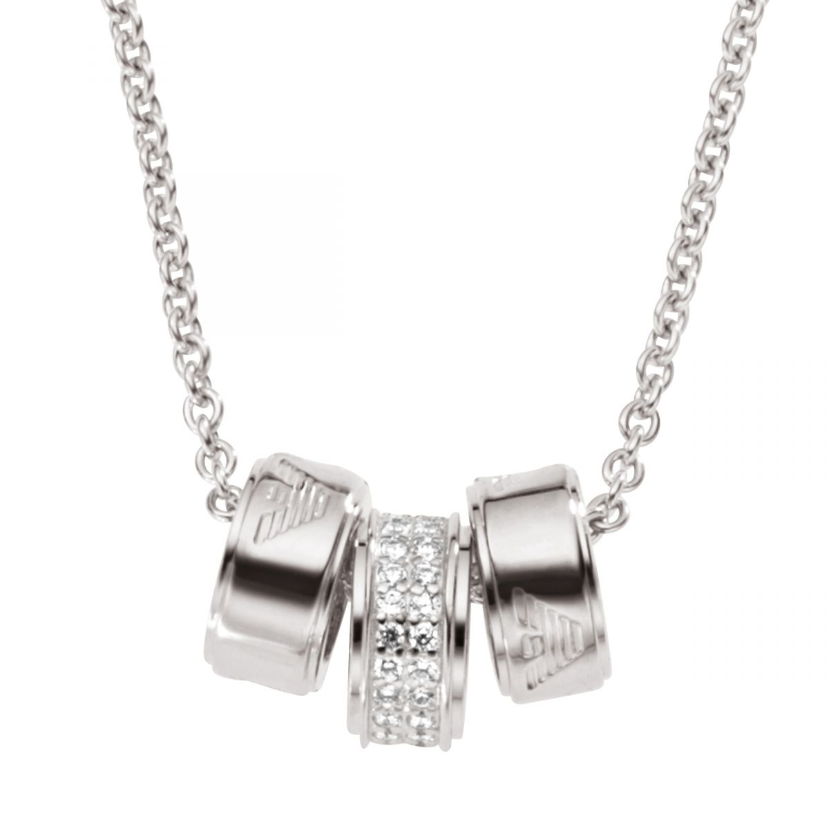 JEWELLERY - Necklaces Emporio Armani EdWXQAK3S