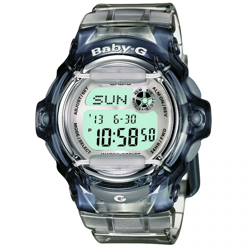 Ladies Casio Baby-G Alarm Chronograph Watch BG-169R-8ER