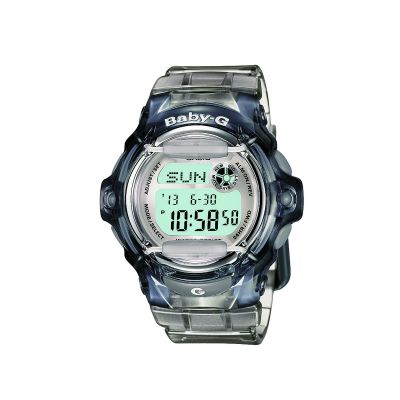 Casio Baby-G Damenchronograph in Transparent BG-169R-8ER