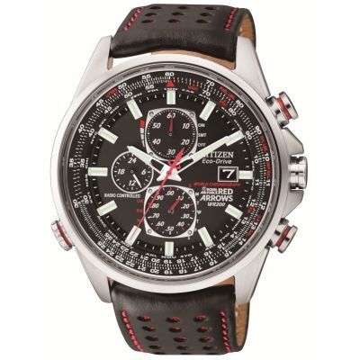 Citizen Red Arrows A-T Herrenchronograph in Schwarz AT8060-09E
