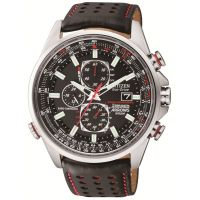 Mens Citizen Red Arrows A-T Chronograph Radio Controlled Watch AT8060-09E