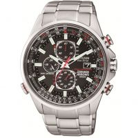 Mens Citizen Red Arrows A-T Chronograph Radio Controlled Watch AT8060-50E