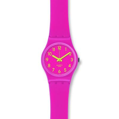 Swatch Originals Lady Biko Roose Damenuhr in Pink LP131