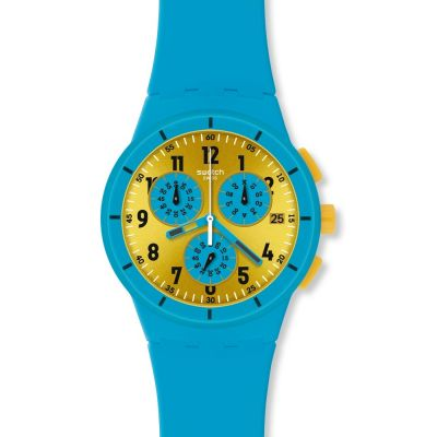 Mens Swatch Maresoli Chronograph Watch SUSS400