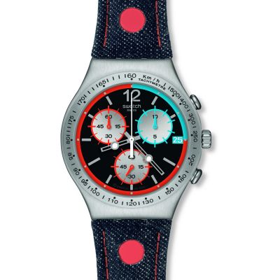 Mens Swatch Since 2013 Chronograph Watch YCS571