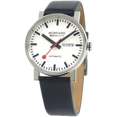 Mens Mondaine Swiss Railways Evo Big Automatic Watch A1323034811SBB