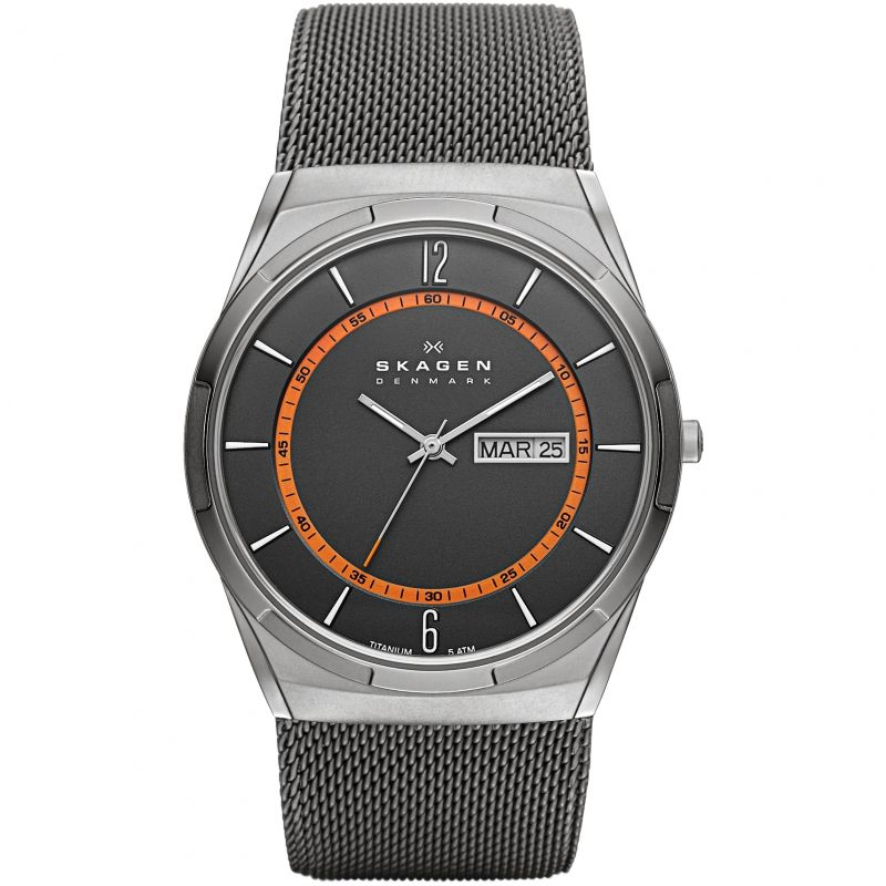 Mens Skagen Melbye Titanium Watch SKW6007