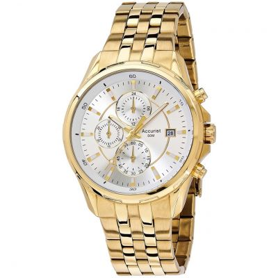 Mens Accurist London Chronograph Watch MB933S