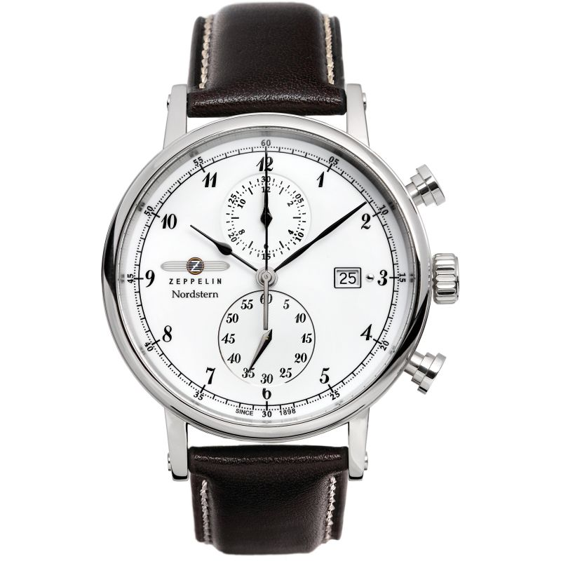 Mens Zeppelin Nordstern Chronograph Watch