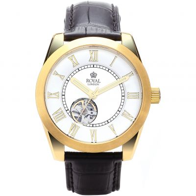 Mens Royal London Westminster Automatic Watch 41153-02