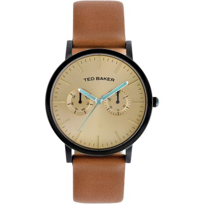 Ted Baker Brit Multifunction Herrenuhr in Braun ITE1094