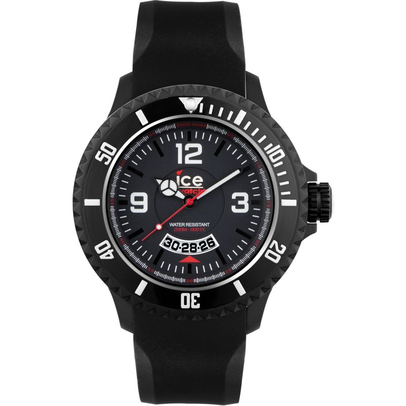 Mens Ice-Watch Ice-Surf Watch DI.BW.XB.R.12