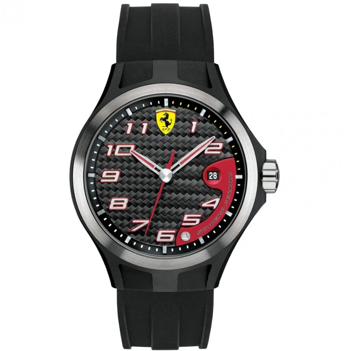 silicone scuderia ferrari sale amazon strap quartz and for dp analogue mens uk display classic watch watches co