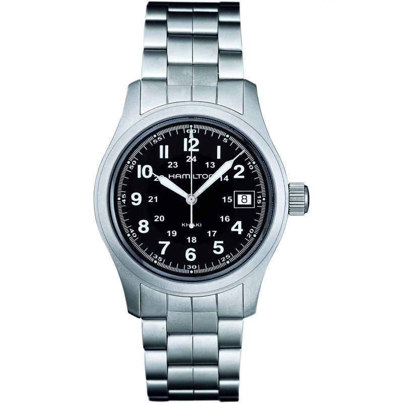 Mens Hamilton Khaki Field Quartz 38mm Watch
