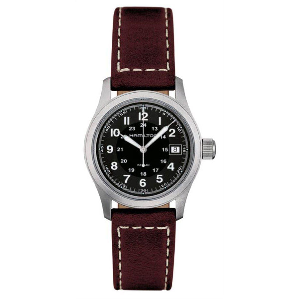 Gents hamilton khaki field quartz 38mm watch h68411533 for Watches 38mm