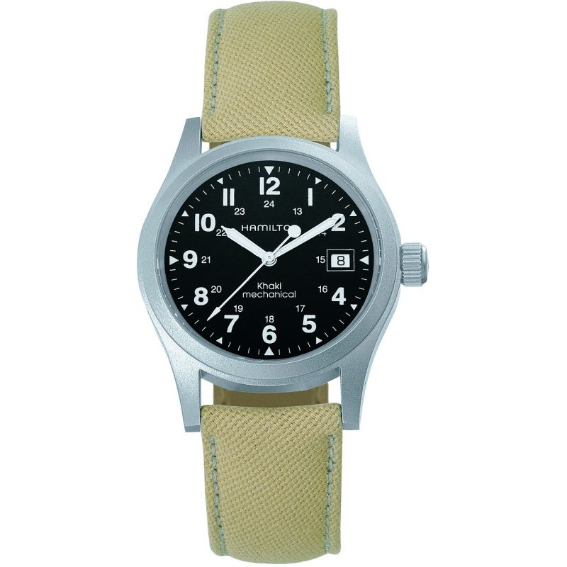 Mens Hamilton Khaki Officer Mechanical Watch H69439933