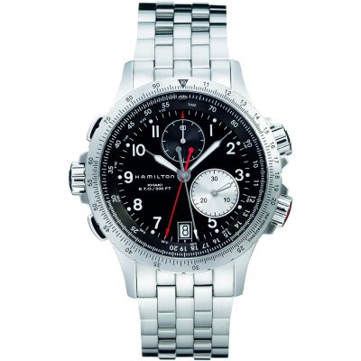 Mens Hamilton Khaki ETO Chronograph Watch H77612133