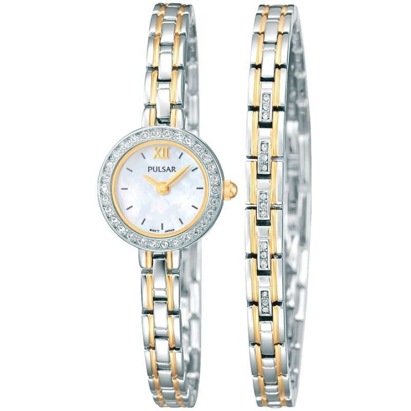 Image of  			   			  			   			  Ladies Pulsar Gift Set Watch